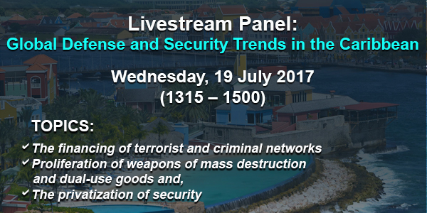 Livestream Panel: Global Defense and Security Trends in the Caribbean