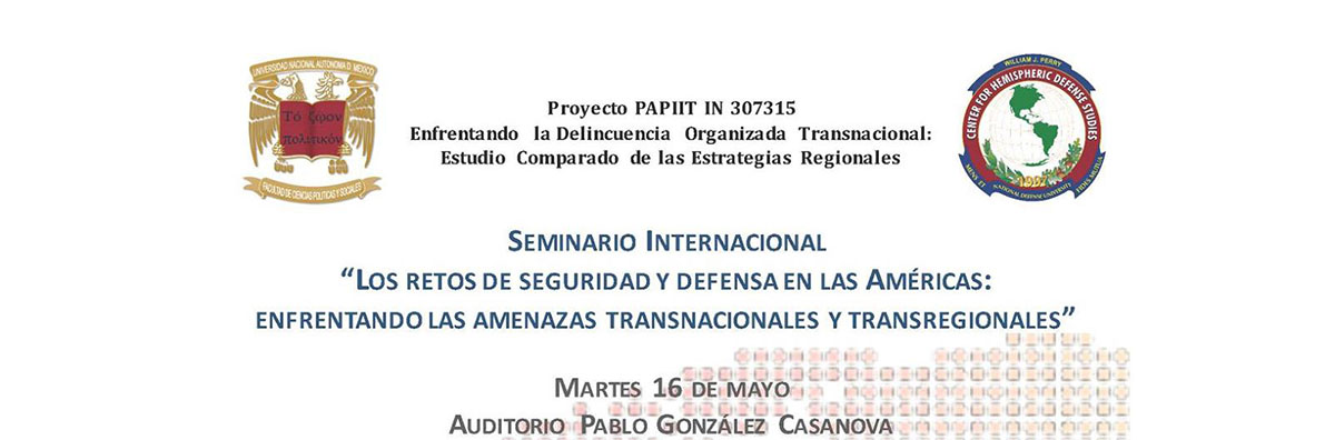 Perry Center Will Conduct Seminar on Emerging Threats and Hemispheric Security