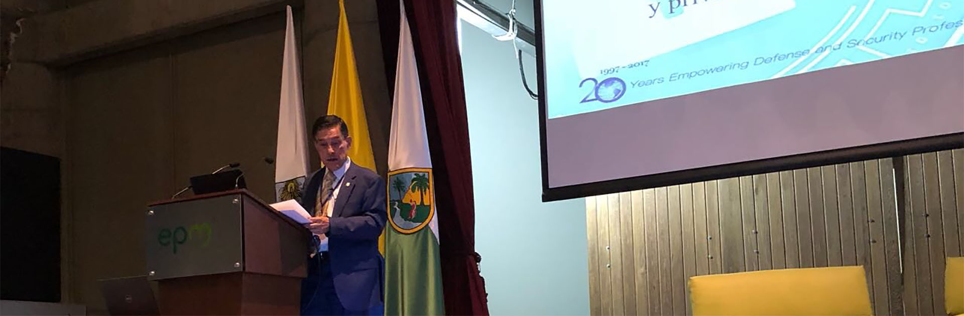 Professor Boris Saavedra Speaks at OAS Workshop