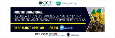 Perry Center Professor Speaks on Hezbollah and the Convergence of Terrorism and Transnational Organized Crime: Challenges for Colombia and the Region