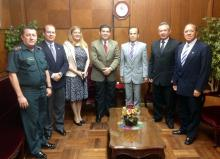 Paraguayan Minister of Defense and Alumni Association Executive Board