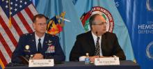 WSDS guest lecturers BG Randy Kee, USAF, and Dr. Frank Mora, OSD-Western Hemisphere Affairs